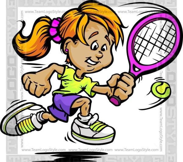 Girl Tennis