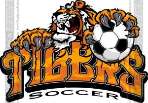 Tiger Soccer Logo