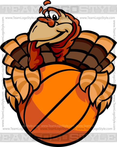 Basketball Turkey Clip Art