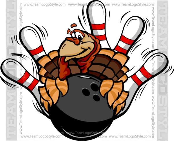 Bowling Turkey Clip Art