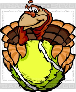Tennis Turkey Clip Art