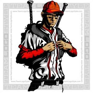 Baseball Backpack Art