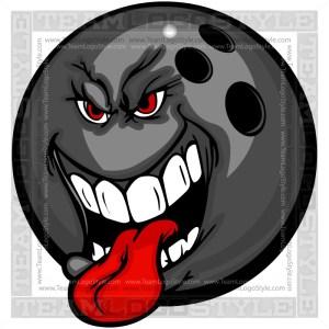 Bowling Ball Cartoon