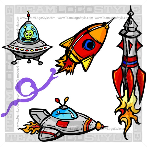Space Ship Cartoon