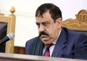 One of Egypt's more notorious moustaches, owned by Judge Nagy Shehata.