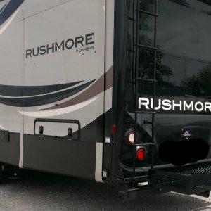Custom Carrier on RV Rushmore