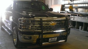 GOIndustries grill guard Chevy