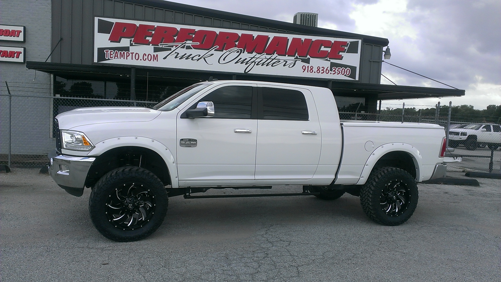 2015 Ram 2500 Mega Cab AMP Power Steps Performance Truck