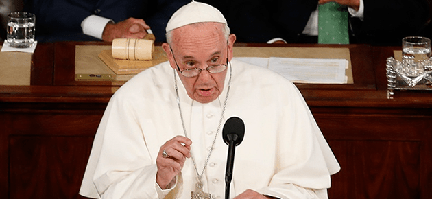 In Washington, Pope Francis Calls for Social and Economic Justice