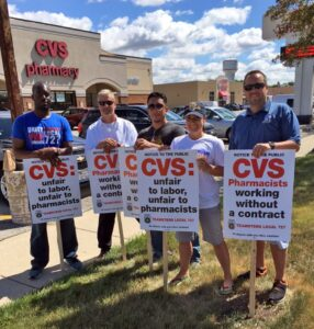 CVS Informational Picket