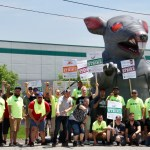 Teamster Power Amps Up During Unfair Labor Practice Strike