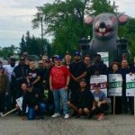Dr Pepper Drivers Stand Strong with the Support of Local 705