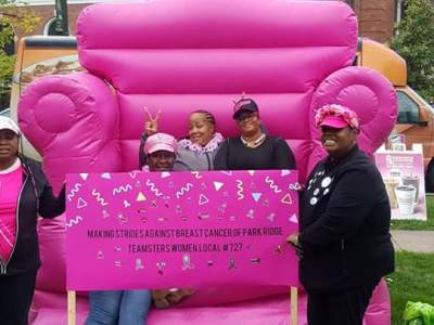 Local 727 is Gearing Up to Make Strides Against Breast Cancer