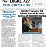 Read the Local 727 Winter Member Newsletter Now!
