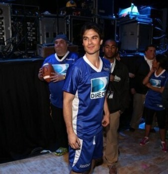 Ian Somerhalder Celebrity Beach Bowl 2013