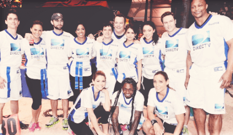 The White Team Photo - 2013 Celebrity Beach Bowl