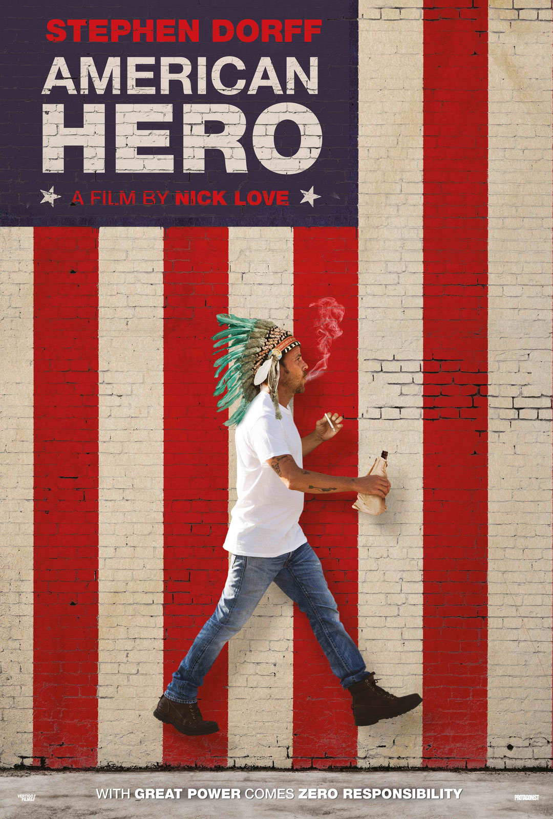 report about the hero in american movies