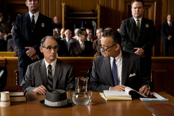 El puente de los espías Tom Hanks y Mark Rylance