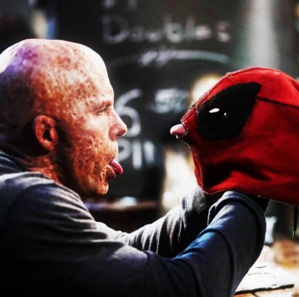 Deadpool maskless