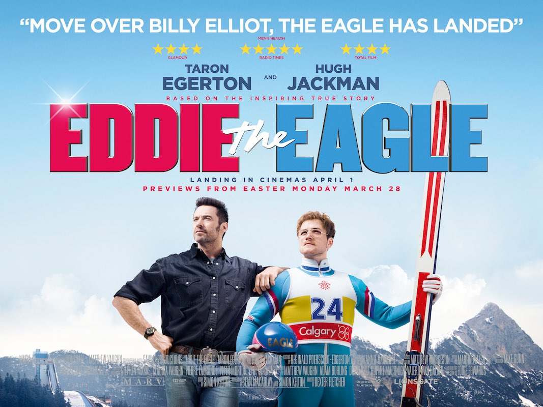 movie Eddie the Eagle, ski jumping