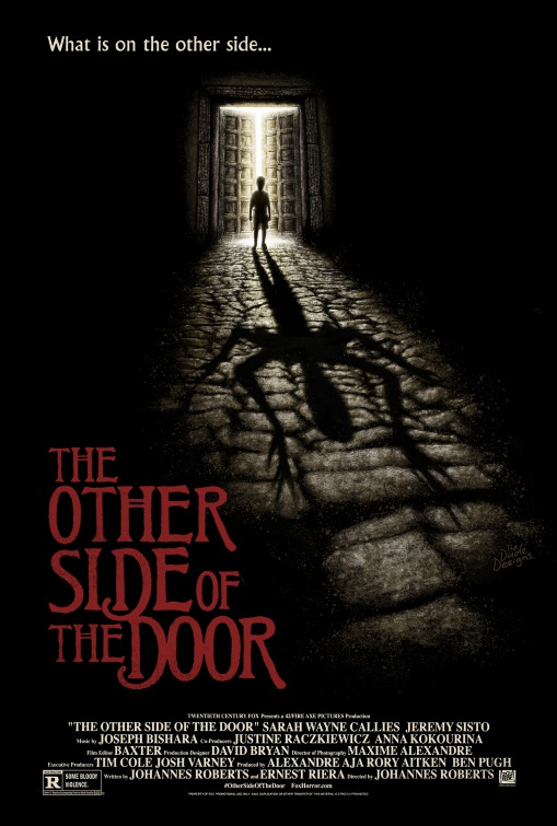 Clip and 3 posters of the other side of the door teaser trailer