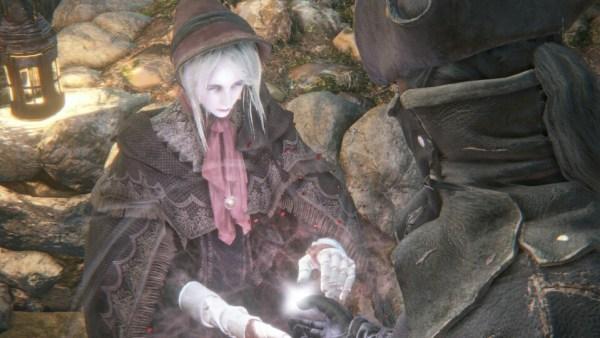 人形のアップ ブラッドボーン Bloodborne