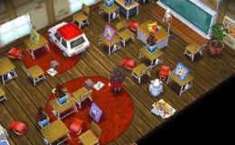 教室 学校 どうぶつの森ハッピーホームデザイナー