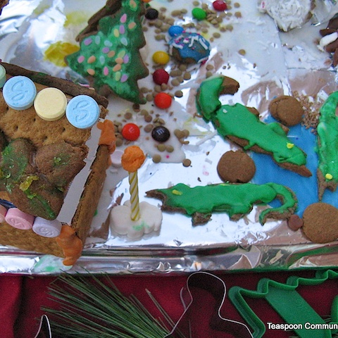 gingerbread zoo