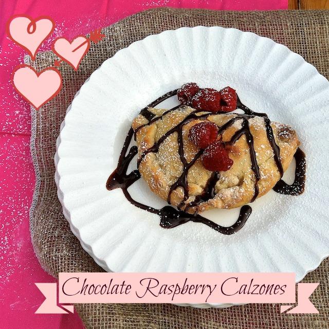 Chocolate Raspberry Calzones | Teaspoonofspice.com