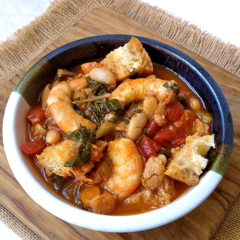 Shrimp Ribollita