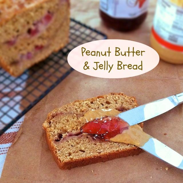 Peanut Butter & Jelly Bread | Teaspoonofspice.com