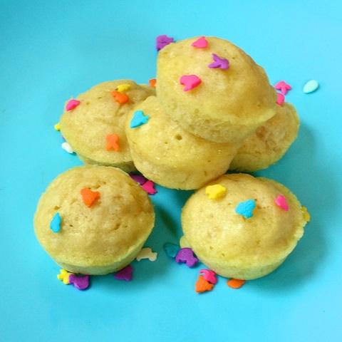 almond milk mini muffins