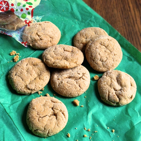 Soft & Chewy Gingersnaps | Teaspoonofspice.com