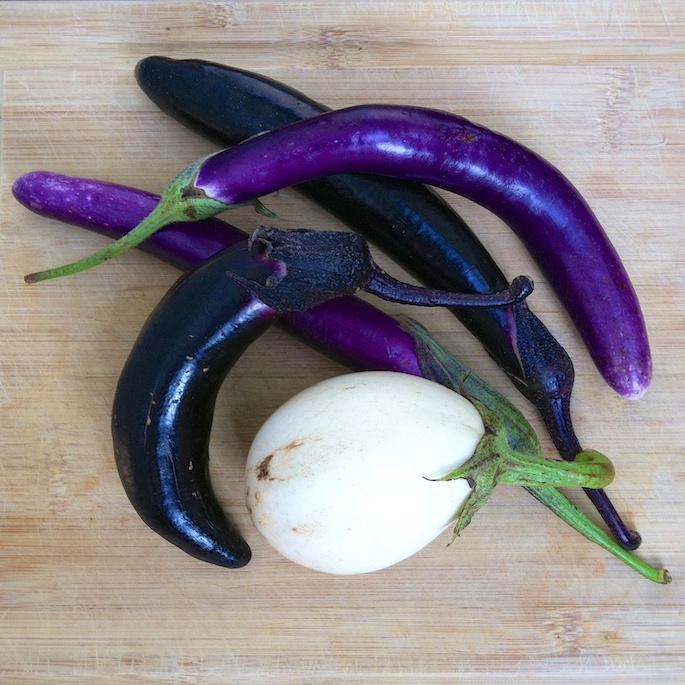 Penne with Almond Pesto & Eggplant | Teaspoonofspice.com
