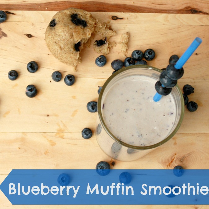 Blueberry Muffin Smoothie Blueberry Muffin Smoothie