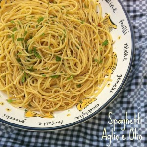 Spaghetti with Garlic & Oil (Spaghetti Aglio e Olio) – The Recipe ReDux