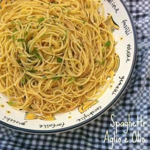 Spaghetti with Garlic and Oil (Spaghetti Aglio e Olio) | The Recipe ReDux