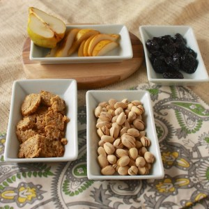 Pistachios, Dried Plums, Pears & Blue Cheese Crackers – The Recipe ReDux {sponsored contest}