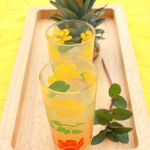 Gingered Pineapple Juice + Cooking Light Global Kitchen Cookbook giveaway