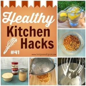 Healthy Kitchen Hacks #41