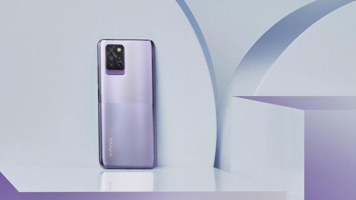 The Infinix NOTE 10 Pro is part of the new Infinix NOTE 10 Series. It features a huge 6.95 inch 90Hz display, 5000mAh battery, 33W fast charging and comes with Android 11