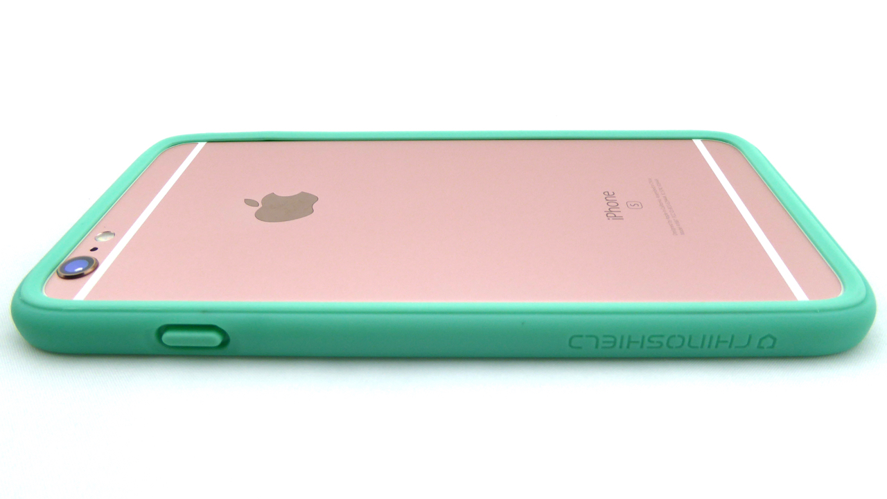RhinoShield CrashGuard for iPhone 6s Plus in Mint Green--Back View