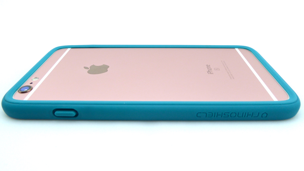 RhinoShield CrashGuard for iPhone 6s Plus in Teal Blue- Back View