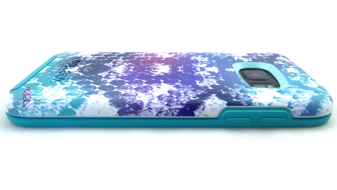 OtterBox Symmetry Graphics for Galaxy S7 in Under My Skin: Back Side View