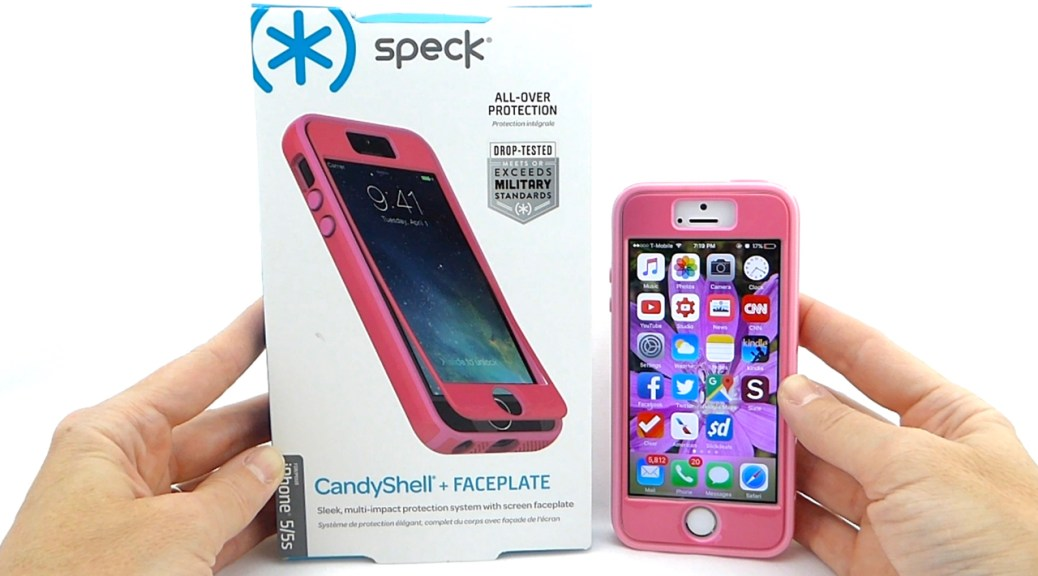 Speck CandyShell + Faceplate for iPhone SE