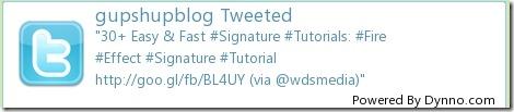 DynnoTwitterSignatureImageGenerator1 10 Best Free Twitter Signature Generators