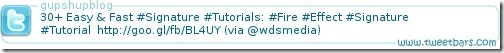 TwitterBarSignature1 10 Best Free Twitter Signature Generators