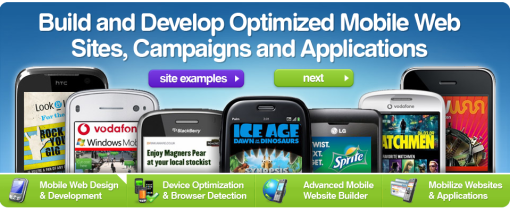 Wapple1 20 sites to create/optimize website for mobile phone users