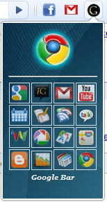 Google Toolbar11 Have you tried Google Toolbar for Chrome??