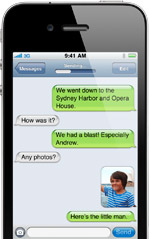 iPhone4 Messages1 100+ Cool new features of iPhone 4